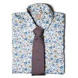Men' одежда s на белой предпосылке Стоковое Изображение