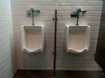 Men& x27; писсуары ванной комнаты s Стоковые Изображения