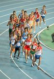 Men 10000m final during the 20th European Athletic Stock Photo