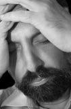 Men-3 deprimido Fotos de archivo