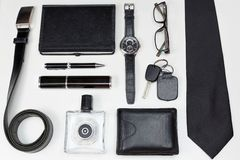 Men accessories. Royalty Free Stock Photography