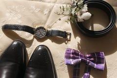 Men accessories Royalty Free Stock Photos