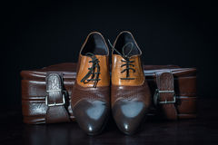 Men accessories, Still life. Business look. Stock Photos