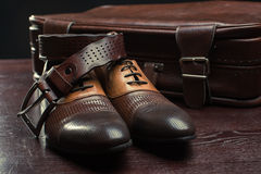 Men accessories, Still life. Business look. Stock Images