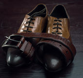 Men accessories, Still life. Business look Royalty Free Stock Photo