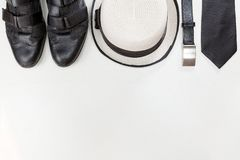 Men accessories. royalty free stock images