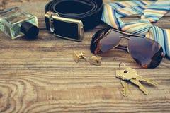Men accessories Stock Photography