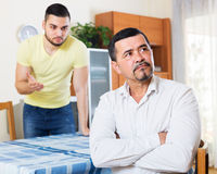 Men arguing about something Stock Photo