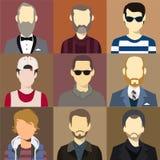 Men Avatar Flash Vector Stock Photography