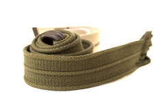A men belts of cloth Royalty Free Stock Photography