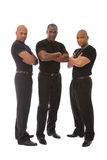Men in black Stock Image