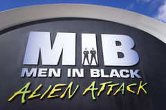 Men in Black Alien Attack Stock Photo