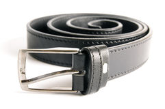 Men black belt Royalty Free Stock Images