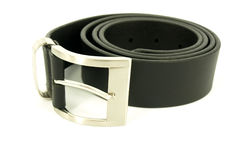 Men black belt Stock Photo