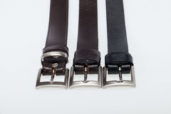 Men black belt Royalty Free Stock Image