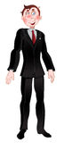 Men in black suit Royalty Free Stock Image