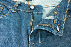 Men blue jeans. Royalty Free Stock Photo