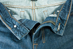 Men blue jeans. Royalty Free Stock Image