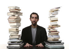 Men and books Stock Image