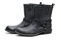 Men boots Stock Photography