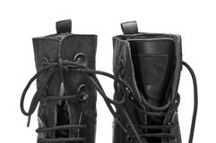 Men boots Royalty Free Stock Photo
