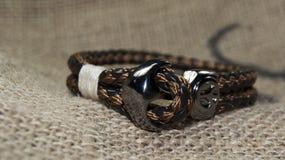 Men bracelet Stock Photos
