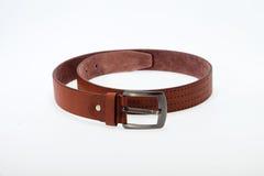 Men  brown  belt Royalty Free Stock Image