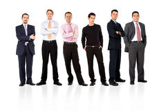Men only business team Stock Photography