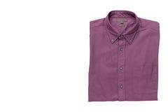 Men& x27; camisa de s isolada com trajeto de grampeamento Fotos de Stock