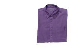 Men& x27; camisa de s isolada com trajeto de grampeamento Imagem de Stock