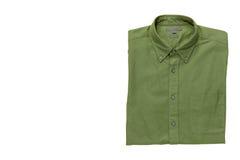 Men& x27; camisa de s isolada com trajeto de grampeamento Fotos de Stock Royalty Free