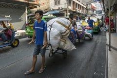 Goods handy transport in Bangkok Stock Image