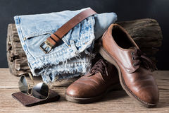 Men casual clothes Royalty Free Stock Images