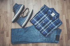 Men casual outfit Royalty Free Stock Photography