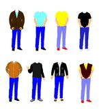 Men in casual wear Stock Photography