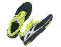 Men& x27 ; chaussures de s pour pulser d'isolement sur le fond blanc Photos stock