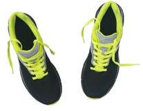 Men& x27 ; chaussures de s pour pulser d'isolement sur le fond blanc Photos libres de droits