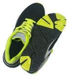 Men& x27 ; chaussures de s pour pulser d'isolement sur le fond blanc Photo stock
