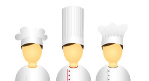 Men chef icon Royalty Free Stock Photography