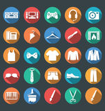 Men clothing and accessories Icon Royalty Free Stock Image