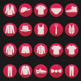 Men clothing fashion item Royalty Free Stock Images