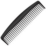 Men comb Royalty Free Stock Photos