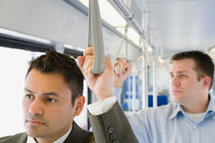 Men commuting Royalty Free Stock Photography