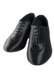Men dance shoes. Men latin ballroom dancing sateen shoes Royalty Free Stock Image