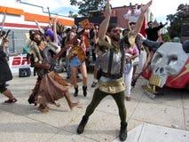 Men dancing Stock Photos