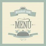 Menú del restaurante Fotos de archivo libres de regalías