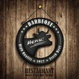 Menú del restaurante Imagen de archivo libre de regalías