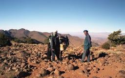 Men of desert Stock Images