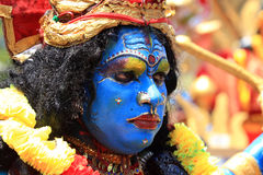 Men with different costumes participates in Atha chamayam at kochi Royalty Free Stock Photography