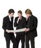Men discussing a plan Royalty Free Stock Image
